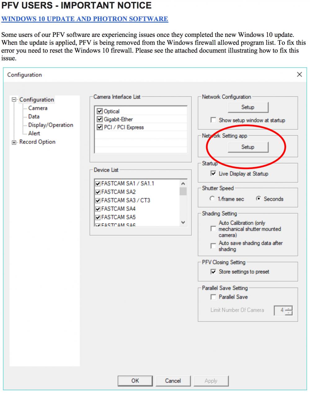 Windows 10 и PVF